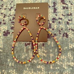 Bauble Bar earrings. New with tags, never worn.